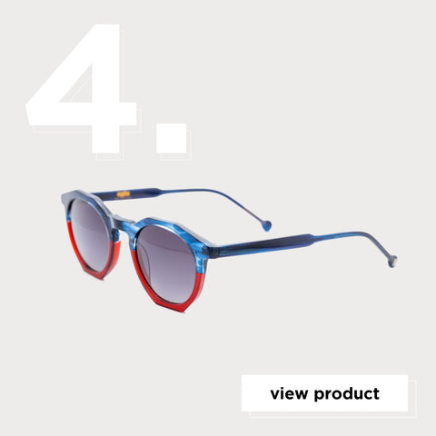 Age Eyewear Cage Blue to Red