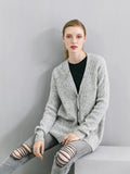 ALEGER Wool/Cashmere Cardigan - Et Vous Fashion Boutique