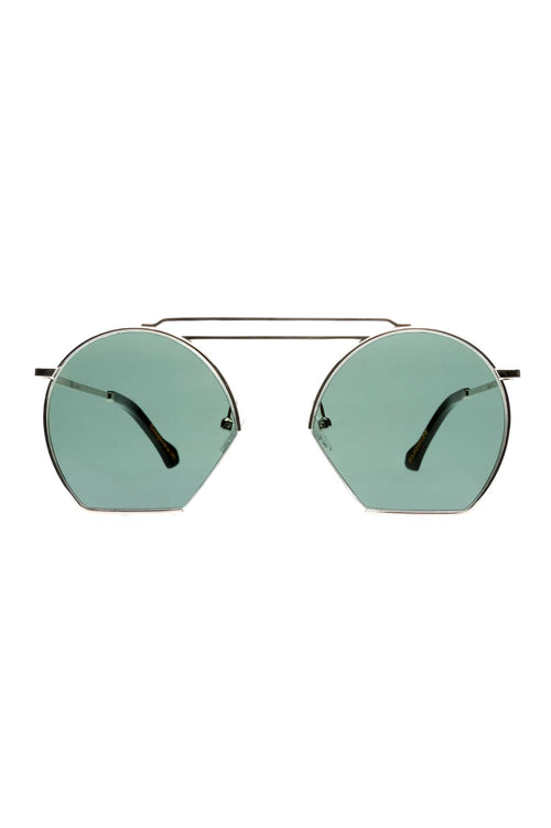 Age Eyewear Lineage Silver Metal with Black - Et Vous Fashion Boutique