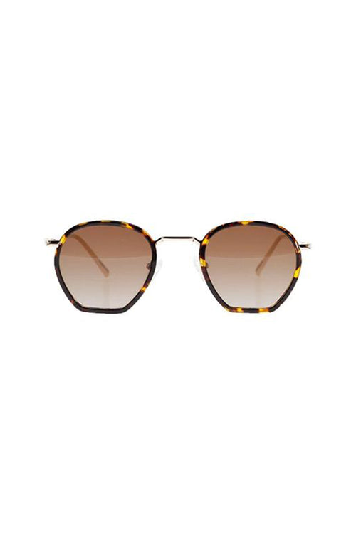 Age Eyewear Wage Gold/Brown Tort - Et Vous Fashion Boutique