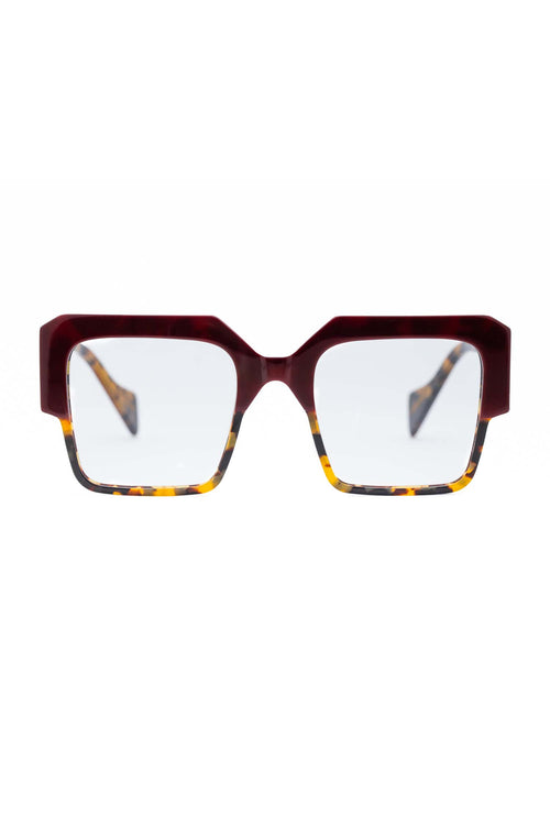 Age Eyewear Stage Plum/Tort Optic - Et Vous Fashion Boutique