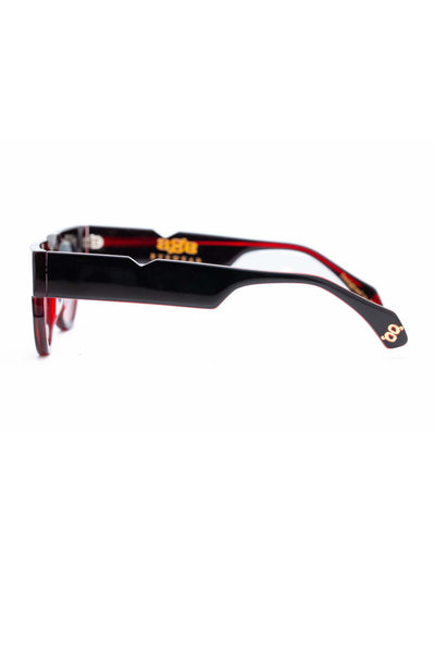 Age Eyewear Triage Black w Red - Et Vous Fashion Boutique
