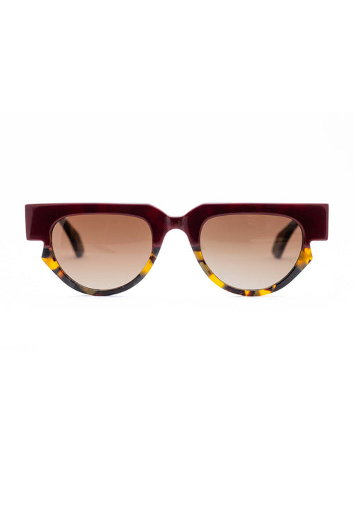 Age Eyewear Triage Plum/Tort - Et Vous Fashion Boutique