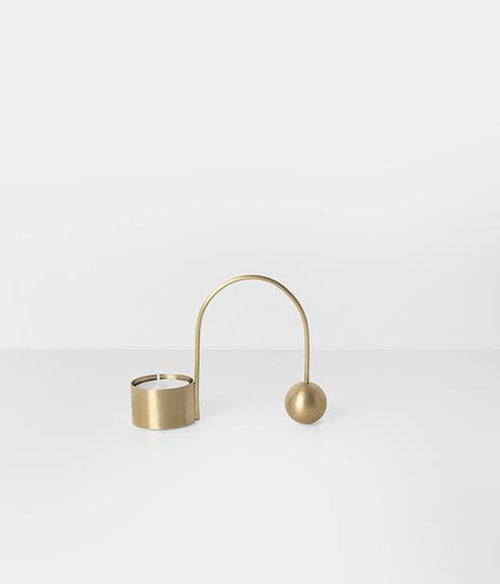Balance Tealight Holder - Brass - Et Vous Fashion Boutique