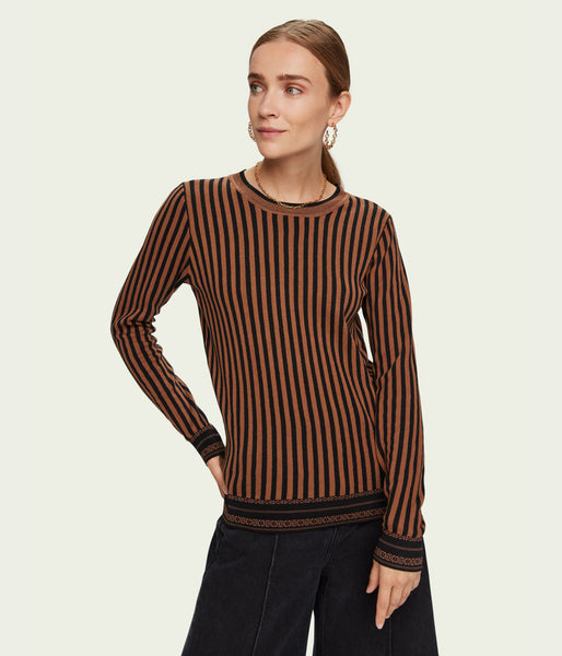 Scotch & Soda Basic Striped Pullover - Et Vous Fashion Boutique
