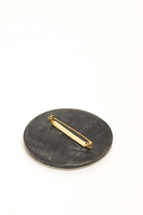 CATH•S Circle Horn Brooch - Et Vous Fashion Boutique