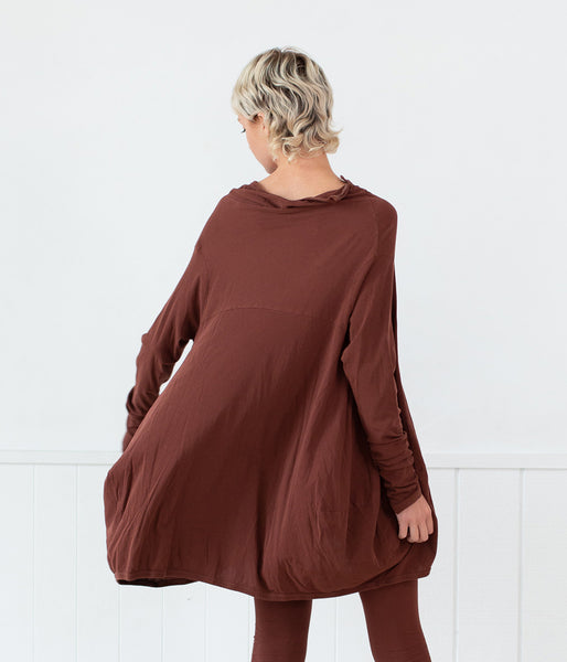 Rundholz Dip Chestnut Top - Et Vous Fashion Boutique