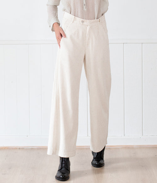 Transit Par-Such  Cord Wide Leg Pant - Et Vous Fashion Boutique
