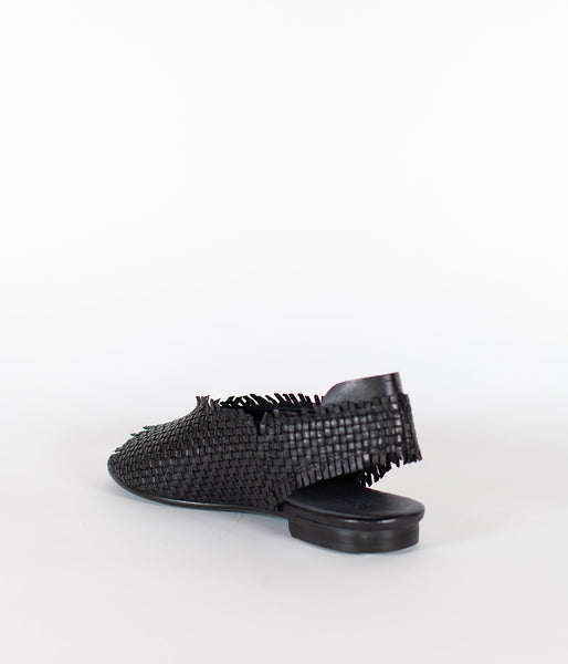 Patty Marchi Intreccio Nero Shoe - Et Vous Fashion Boutique
