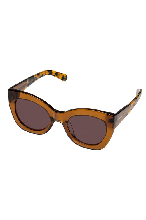 Karen Walker Northern Lights Tan Crazy Tort - Et Vous Fashion Boutique