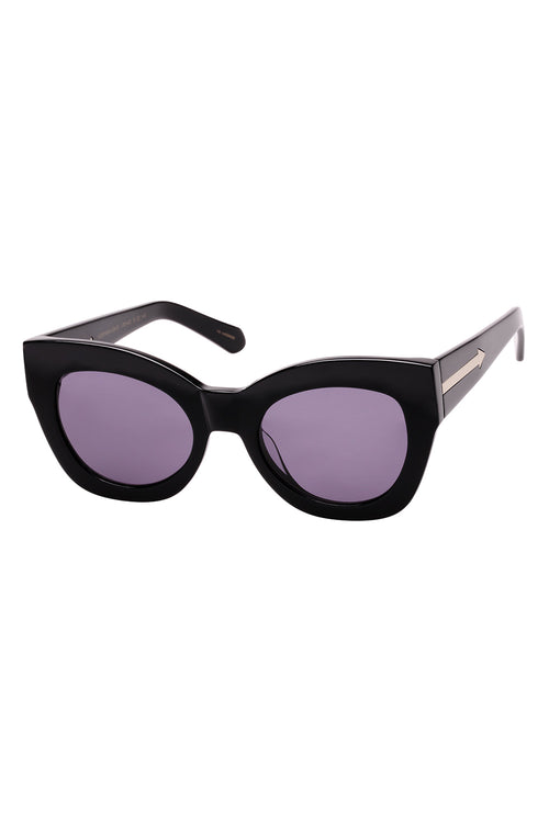 Karen Walker Northern Lights V2 Black - Et Vous Fashion Boutique
