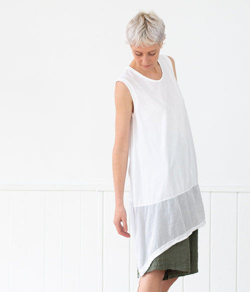 Transit Par-Such Long Drawstring Top - Et Vous Fashion Boutique