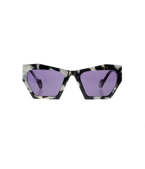 Age Eyewear Magenta Black Pearl Marble - Et Vous Fashion Boutique