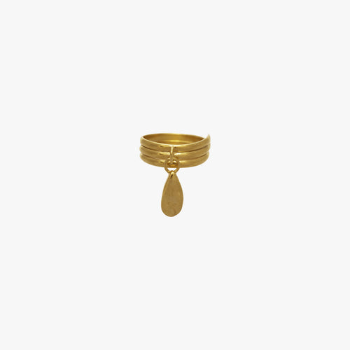 Rachel Stichbury Mini Pepita Ring Gold Plated - Et Vous Fashion Boutique