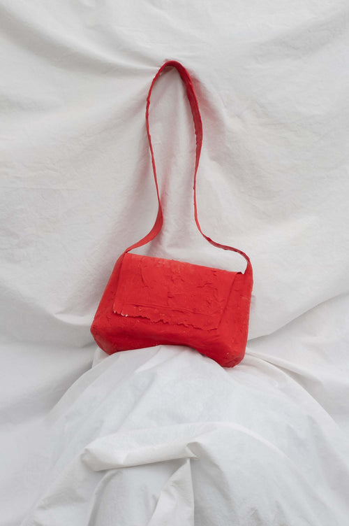 Molly Younger Red Post Bag - Et Vous Fashion Boutique