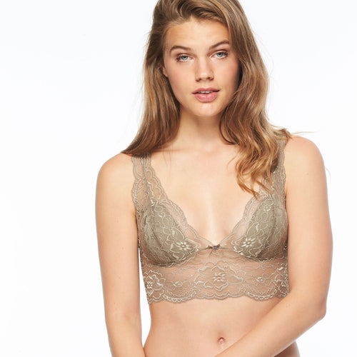 Passionata Wireless Bra Olive - Et Vous Fashion Boutique