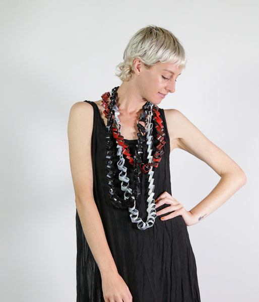 Patchouli Laser Cut Rubber Necklaces - Et Vous Fashion Boutique