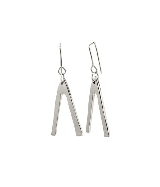 Rachel Stichbury U Turn Earrings Sterling Silver - Et Vous Fashion Boutique