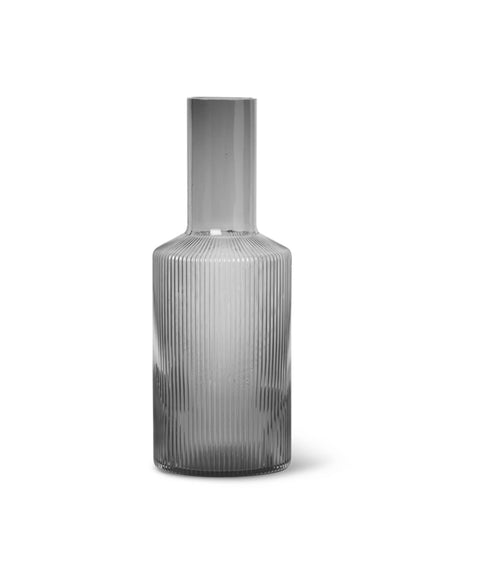 Ripple Carafe - Smoked Grey - Et Vous Fashion Boutique
