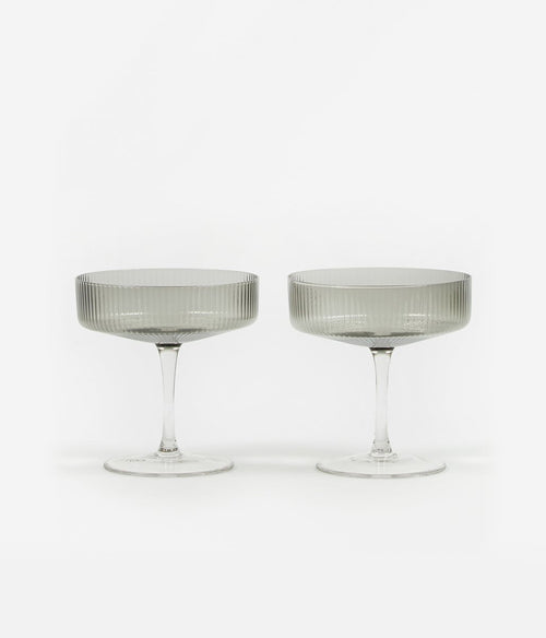 Ripple Champagne Saucer Set of 2 - Et Vous Fashion Boutique