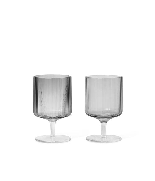 Ripple Wine Glasses Set of 2 - Et Vous Fashion Boutique