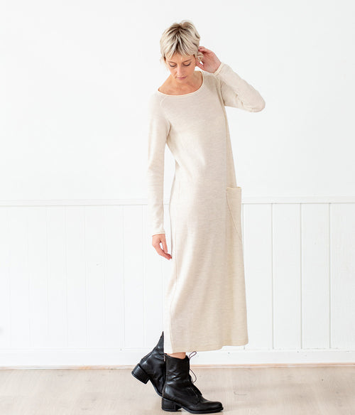 Transit Par-Such Textured  Knit Dress - Et Vous Fashion Boutique