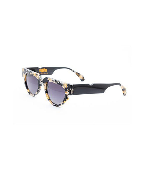 Age Eyewear Triage Black Cream - Et Vous Fashion Boutique