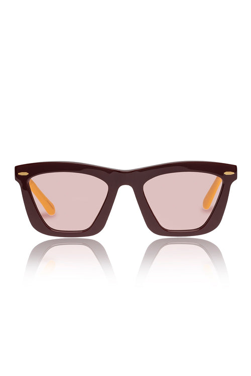 Karen Walker Alexandria Oxblood - Et Vous Fashion Boutique
