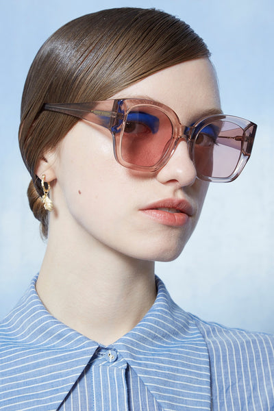 Karen Walker Checkmate Crystal Madder - Et Vous Fashion Boutique
