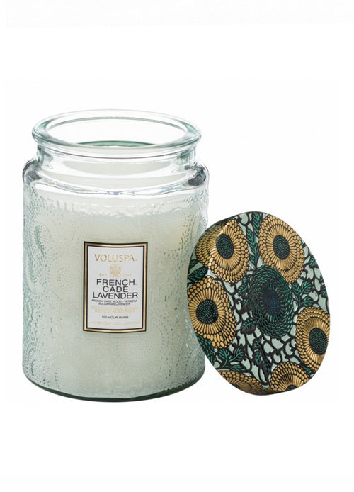 Voluspa Candle French Cade and Lavender Large - Et Vous Fashion Boutique