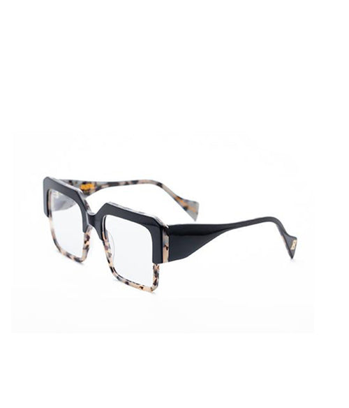 Age Eyewear Stage Black/ Milky Tort Optic - Et Vous Fashion Boutique