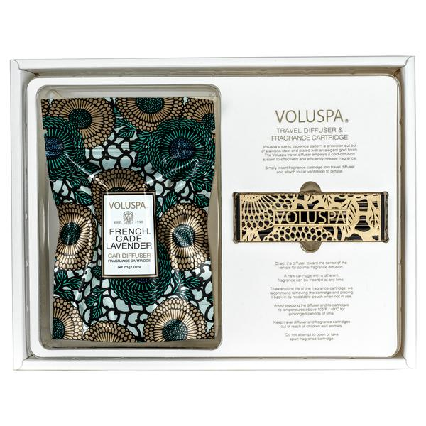 Voluspa French Cade and Lavender Travel Diffuser - Et Vous Fashion Boutique