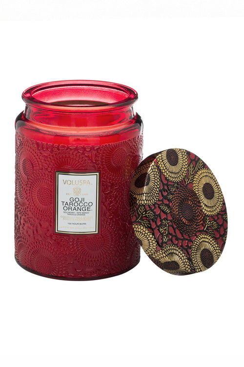 Voluspa Candle Goji Tarocco Orange Large - Et Vous Fashion Boutique