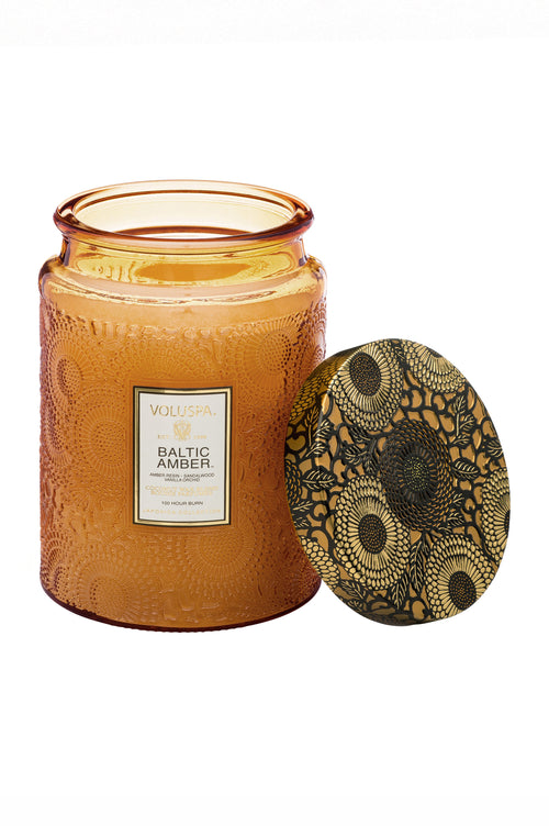 Voluspa Candle Baltic Amber Large - Et Vous Fashion Boutique