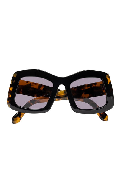 Karen Walker Wyndham Black Crazy Tort - Et Vous Fashion Boutique