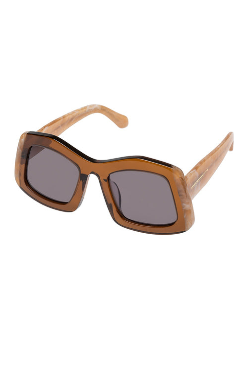 Karen Walker Wyndham Tan Marble - Et Vous Fashion Boutique