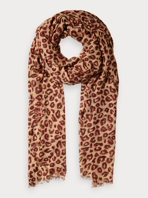 Scotch & Soda Printed Lightweight Scarf - Et Vous Fashion Boutique