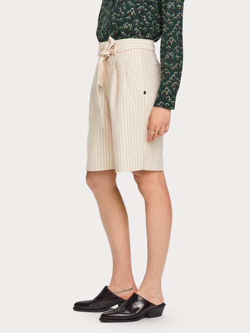 Scotch & Soda Pinstripe Shorts - Et Vous Fashion Boutique