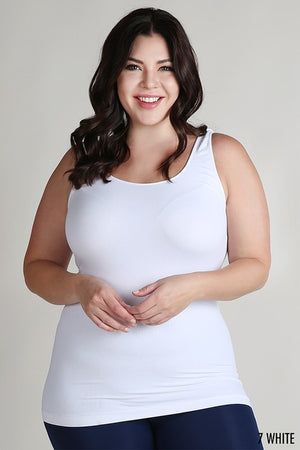 Basis Tank Plus Size In Multiple Colors