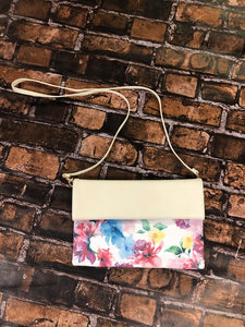 White Floral Crossbody