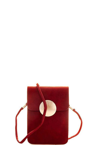Crossbody Pouch Red