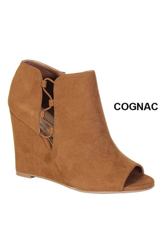Cognac Wedge
