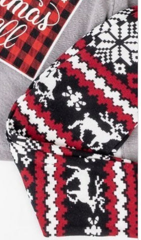 Girls' Winter Print Leggings