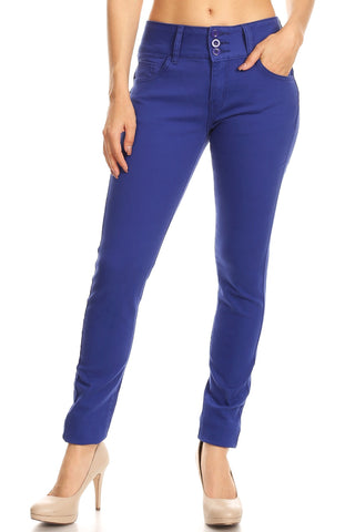 Royal Blue Skinnies