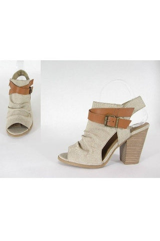Light Taupe Bootie