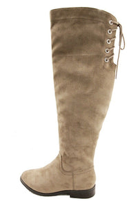 Tall Taupe Boot