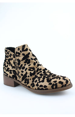 Blowfish Venom Leopard Bootie