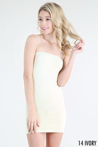 Ivory Strapless Cami One Size
