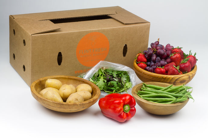 Small Farmers Choice Box - Due to holiday, next delivery or pick up is Wed, 5/30 & Thur, 5/31.