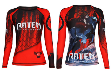 The Red Rashguard (women's)